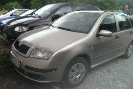 Otevření modelu Škoda Fabia Combi 1. generace