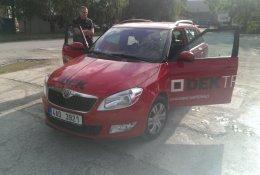 Otevření modelu Škoda Fabia