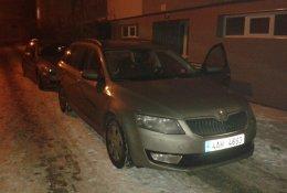 Otevření auta Škoda Octavia