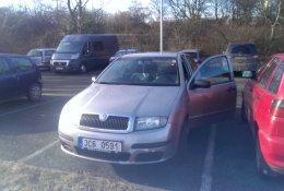 Otevření vozu Škoda Fabia