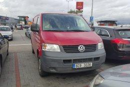 Otevření vozu Volkswagen Transporter