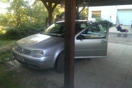 Otevření automobilu Volkswagen Golf bez klíčů