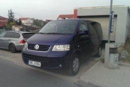 Otevření dodávky Volkswagen