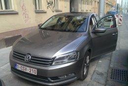 Otevření vozu Volkswagen