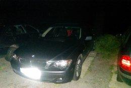 Otevření automobilu BMW