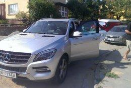 Otevření automobilu Mercedes